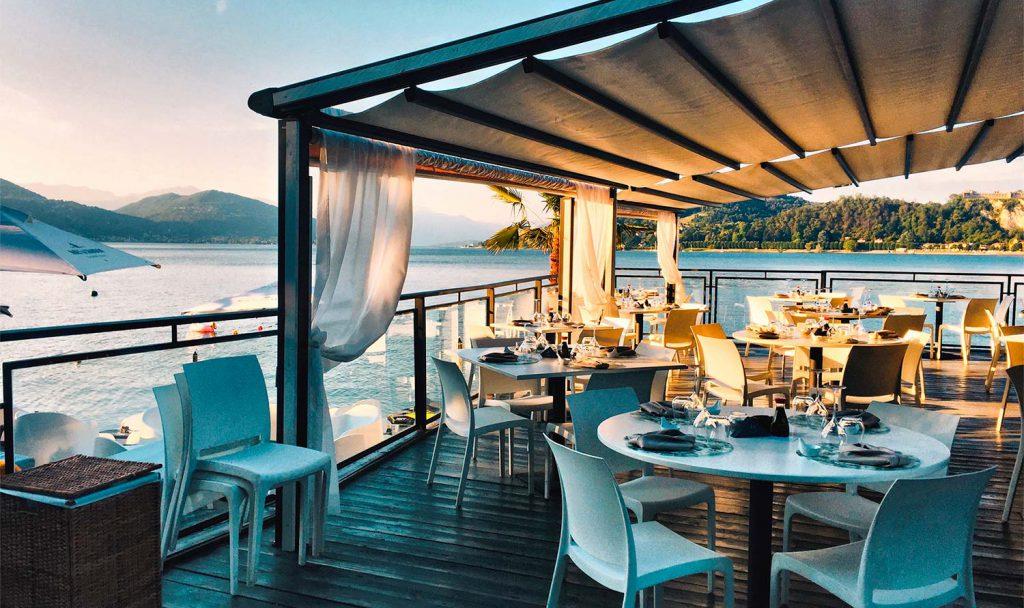 Restaurant ved sjøen
